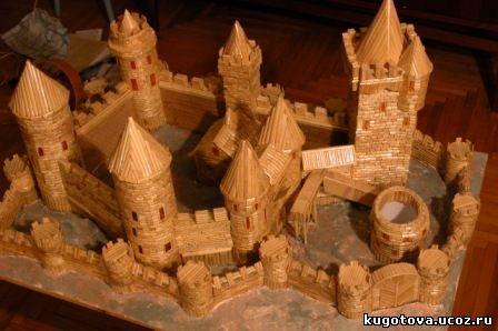 Как сделать макет средневекового замка
